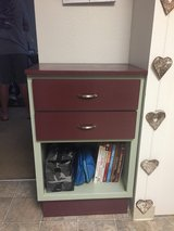 Storage cabinet with silverware tray in Vacaville, California