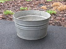 Large Galvanized Tub in Chicago, Illinois