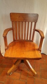 antique desk chair in Glendale Heights, Illinois