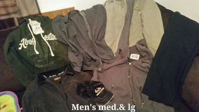 men's jackets and hat in Ramstein, Germany