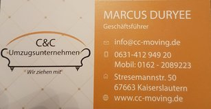 Moving Company in Ramstein, Germany