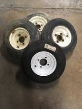 4 Lug Trailor tires in Glendale Heights, Illinois