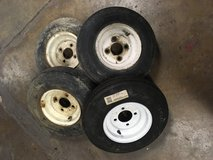 4 Lug Trailor tires in Plainfield, Illinois