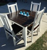 Refinished Dining Table And Chairs in Vista, California