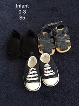 Infant shoes in Fort Drum, New York