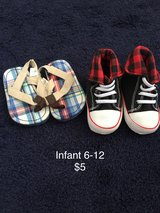Infant shoes 6-12 in Fort Drum, New York