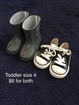 Toddler size 4 shoes in Fort Drum, New York