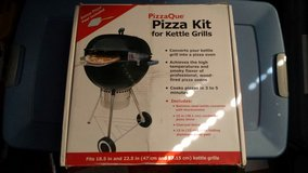 Pizzaque pizza kit for kettle grills in Joliet, Illinois