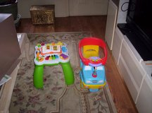 LEAP FROG LEARNING TABLE &DISNEY TRUCK in Tinley Park, Illinois