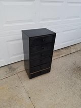 Black / 6 Drawer / Metal / Wood Cabinet in Fort Campbell, Kentucky