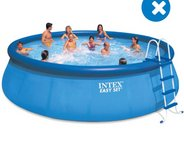 Intex 18'x48' Pool with powerful sand filter, chemicals and accessories. in El Paso, Texas