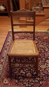 Eastlake caned chair in Chicago, Illinois