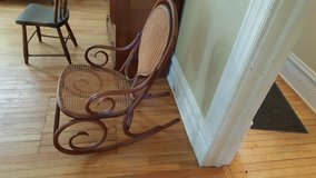 Bentwood caned rocker in Chicago, Illinois