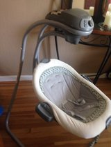 Baby swing in Vacaville, California