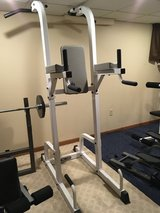 Keys Power System vertical knee raise/chin up/dip stand. in Chicago, Illinois