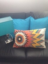Pillows and lamp in Vacaville, California