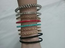 Assorted Bangle Bracelets from Icing in Batavia, Illinois