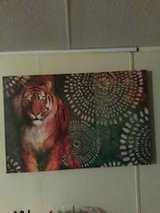 Big tiger canvas picture in Dothan, Alabama
