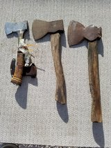 Hatchets in Yucca Valley, California