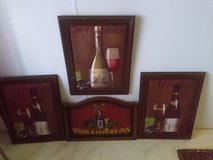 4 pc Wine picture set in Dothan, Alabama