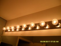 Hollywood Light with 8 light bulbs in Naperville, Illinois