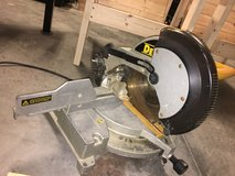 Dewalt DW705 12 inch Single-bevel Compound Miter Saw in Camp Lejeune, North Carolina