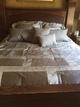 bedding comforter sheets and pillows (king) in Glendale Heights, Illinois