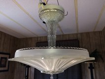 ART DECO GLASS CEILING FIXTURE in Yucca Valley, California