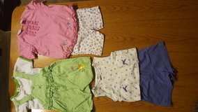 Girl's summer short sets - 4T in Chicago, Illinois