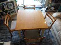 Dining room table and 4 chairs in Okinawa, Japan