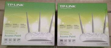(NEW) (2) TP-LINK, 450 Mbps, Wireless N, Access Point in Wiesbaden, GE