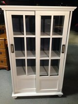 White Hampton Bay Display Cabinet in Kingwood, Texas