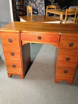 Solid Wood Antique Desk in Kingwood, Texas