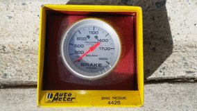 RACING AUTO METER BRAKE PRESSURE GAUGE #4426, NEW IN BOX. SAVE!!! in Cherry Point, North Carolina