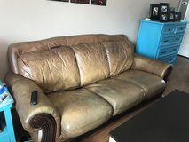 Leather Sofa/ Couch in Byron, Georgia
