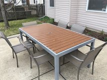 patio table and chairs in Naperville, Illinois