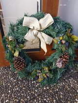 Holiday Wreath in Ramstein, Germany