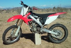 Honda CRF250R Just Rebuilt (with proof) in Yucca Valley, California