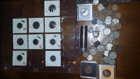Old coins in Springfield, Missouri