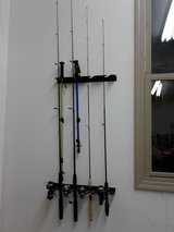 Various Fishing Poles in Chicago, Illinois