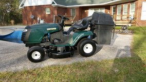 Craftsman 42 Inch Cut Riding Mower With Bagger! in Macon, Georgia