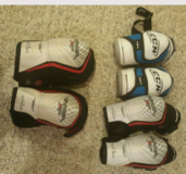 Hockey elbow pads in DeKalb, Illinois