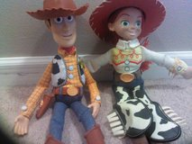 Woody and Jessie Dolls in Fort Carson, Colorado