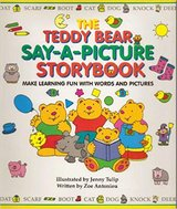 The Teddy Bear Say-A-Picture Storybook: Make Learning Fun With Words and Pictures in Morris, Illinois