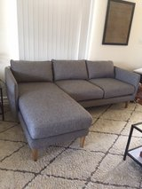 WEST ELM SECTIONAL COUCH in Camp Pendleton, California