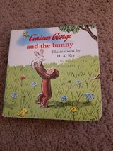 Curious George and the bunny board book Easter in Lockport, Illinois