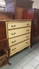 WHITE FRENCH DRESSER in Camp Lejeune, North Carolina
