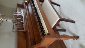 Starck Console Upright Piano with Bench in bookoo, US