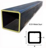 Square steal tubing 3 inch x 3 inch x 12 foot. in Alamogordo, New Mexico
