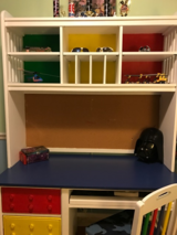 Awesome LEGO-inspired desk for boy in Chicago, Illinois